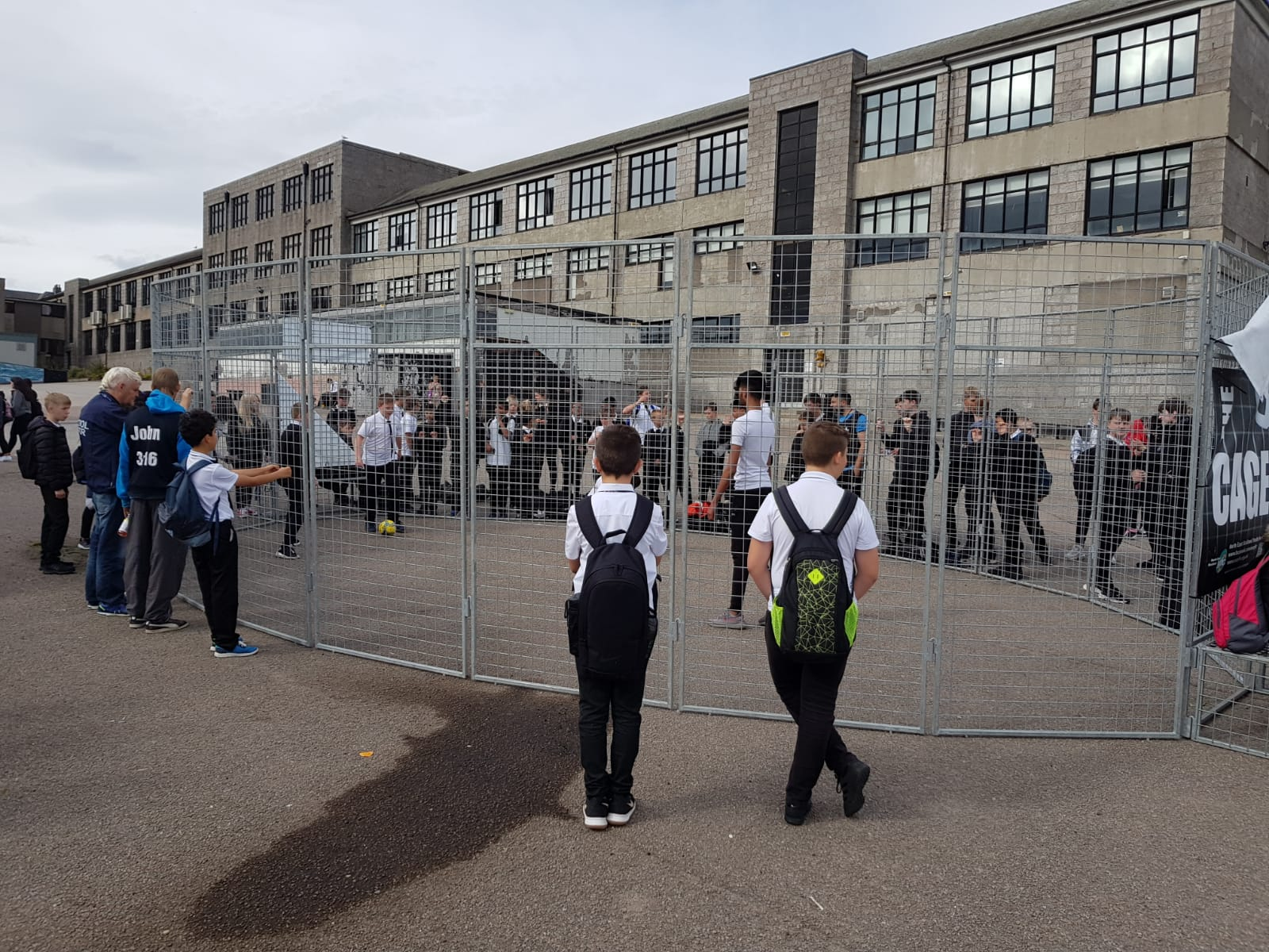 Cage At St Machar Academy